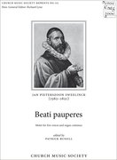 Cover for Beati pauperes
