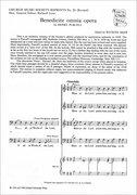 Cover for Benedicite omnia opera