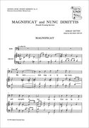Cover for Magnificat and Nunc Dimittis from the Fourth Service