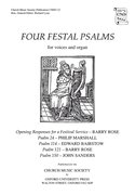 Cover for Four Festal Psalms