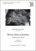 Cover for Honor, virtus et potestas
