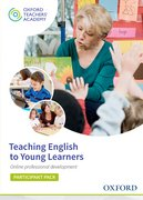 Cover for Teaching English to Young Learners Participant Code Card
