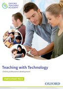 Cover for Teaching with Technology Participant Code Card