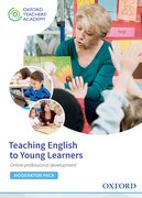 Cover for Teaching English to Young Learners Moderator Code Card