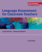Cover for Language Assessment for Classroom Teachers