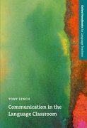 Cover for Communication in the Language Classroom