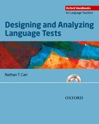 Cover for Designing and Analyzing Language Tests