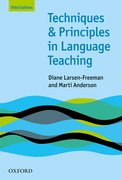 Techniques and Principles in Language Teaching (Third Edition) Practical, step-by-step guidance for ESL teachers, and thought-provoking questions to stimulate further exploration.