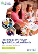 Cover for Teaching Learners with Special Educational Needs Participant Code Card