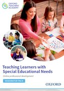 Cover for Teaching Learners with Special Educational Needs Moderator Code Card