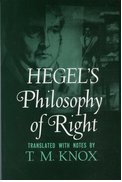 Cover for Philosophy of Right