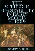 Cover for The Struggle for Stability in Early Modern Europe