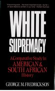 Cover for White Supremacy