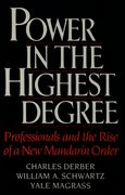 Cover for Power in the Highest Degree