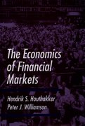 Cover for The Economics of Financial Markets