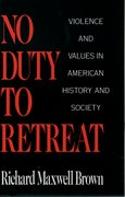 Cover for No Duty to Retreat