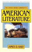 Cover for The Concise Oxford Companion to American Literature