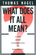 Cover for What Does It All Mean?