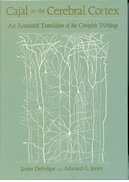 Cover for Cajal on the Cerebral Cortex