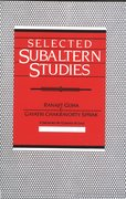 Cover for Selected Subaltern Studies