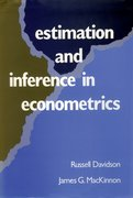 Cover for Estimation and Inference in Econometrics