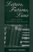 Cover for Letters, Fictions, Lives