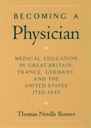 Cover for Becoming a Physician