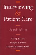 Cover for Interviewing and Patient Care