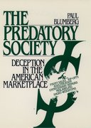 Cover for The Predatory Society