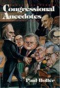 Cover for Congressional Anecdotes
