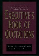Cover for The Executive