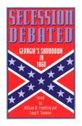Cover for Secession Debated