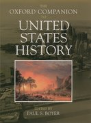 Cover for The Oxford Companion to United States History