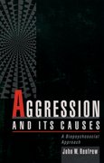 Cover for Aggression and Its Causes