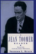 Cover for A Jean Toomer Reader