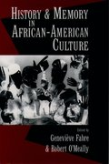 Cover for History and Memory in African-American Culture