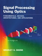 Cover for Signal Processing Using Optics