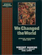 Cover for We Changed the World