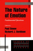 Cover for The Nature of Emotion