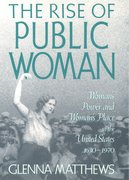 Cover for The Rise of Public Woman