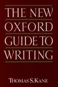 Cover for The New Oxford Guide to Writing