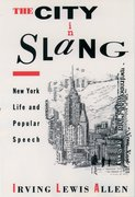 Cover for The City in Slang