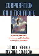 Cover for Corporation on a Tightrope