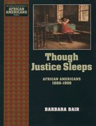 Cover for Though Justice Sleeps
