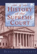 Cover for A History of the Supreme Court