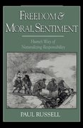 Cover for Freedom and Moral Sentiment