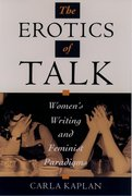 Cover for The Erotics of Talk