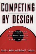 Cover for Competing by Design
