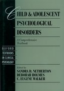 Cover for Child and Adolescent Psychological Disorders