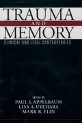 Cover for Trauma and Memory